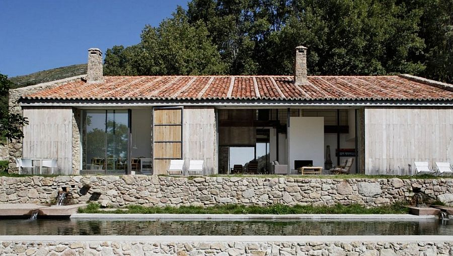 Rustic Spanish Stable Renovated Into A Sustainable Modern Home