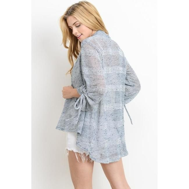 Heather Knitted Sheer Cardigan