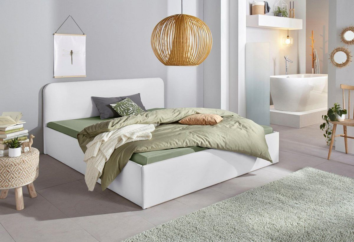 Photo of Upholstered bed, in 3 cover qualities