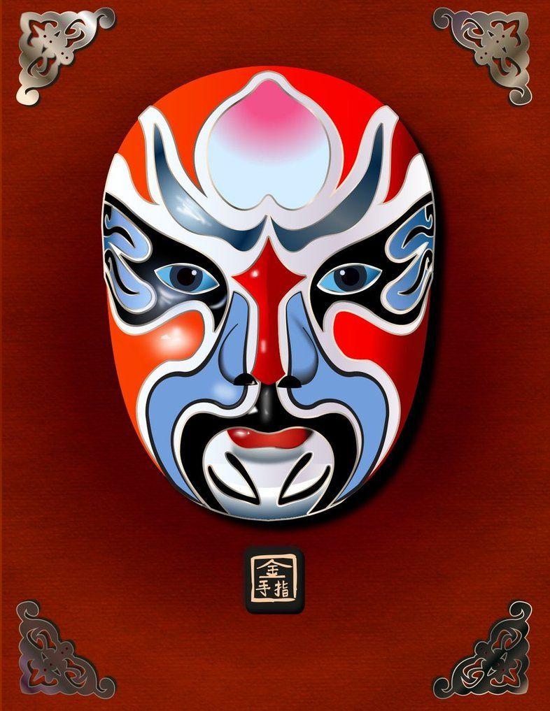 Kabuki Mask by ~jmanggala on deviantART | Kabuki Morgue ...