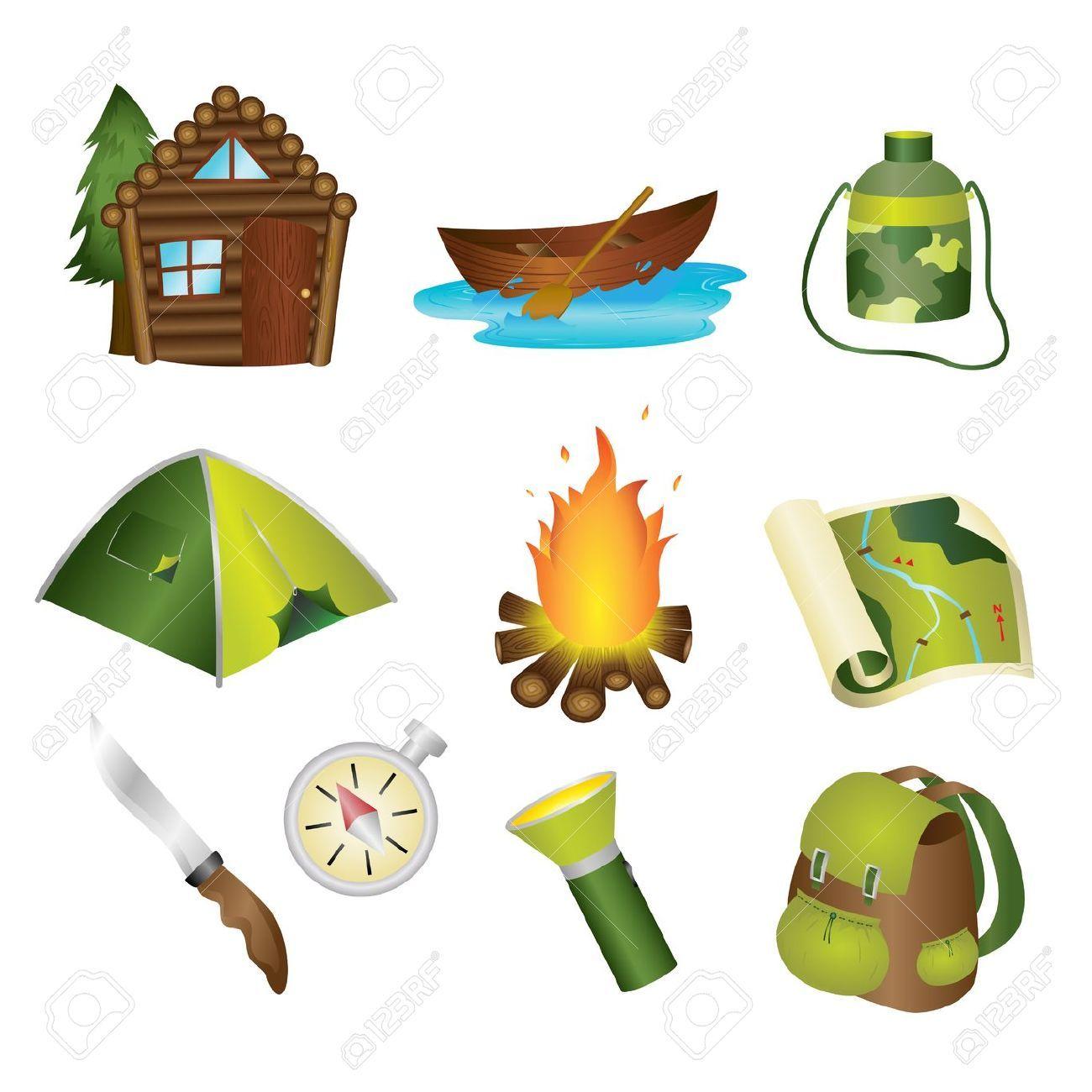 Ensemble Dimage Le Camping