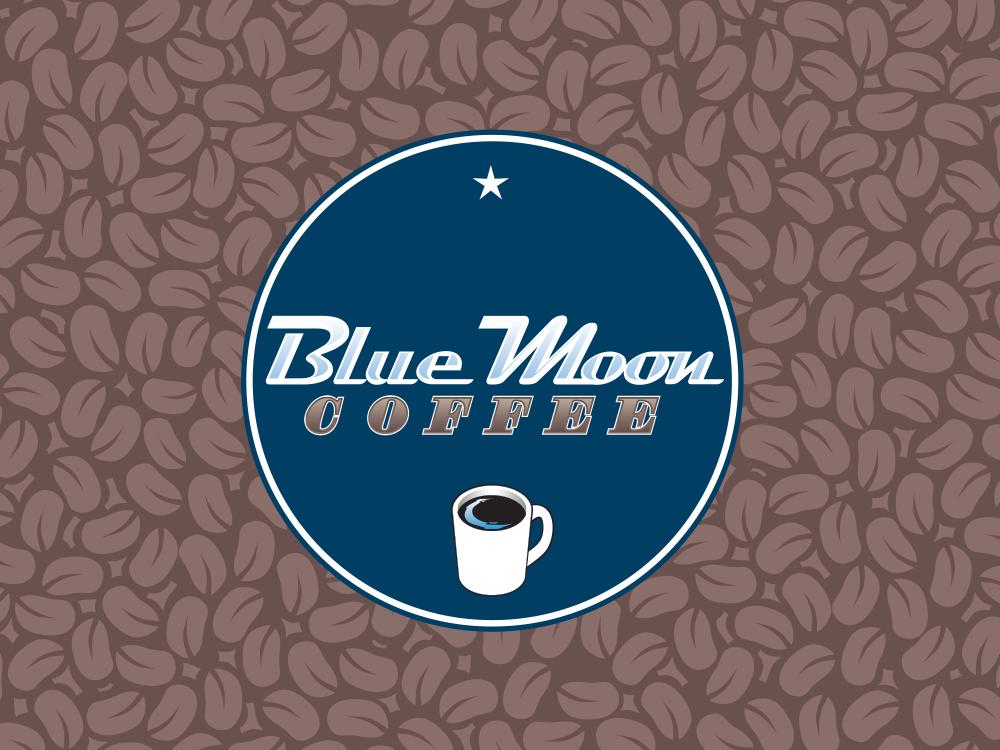 Logo For Blue Moon Coffee Blue Moon Blue Moon