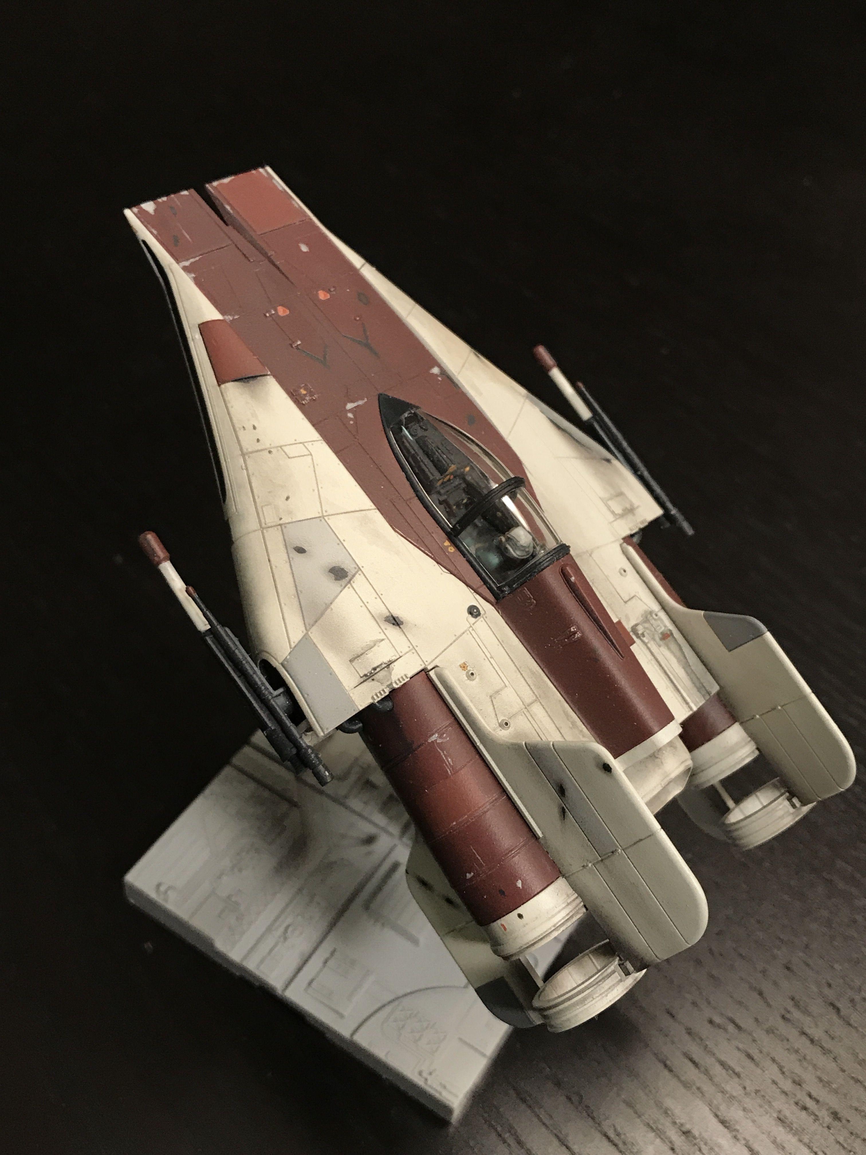 Star Wars BANDAI A-Wing Starfighter 1:144 Plastic Model Kit 010 UK Posted
