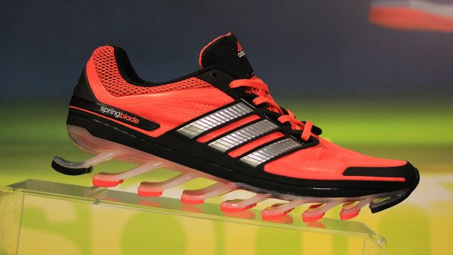 db96736c6872 Adidas Springblade  Shoes with Actual Springs Might Be a Good Idea