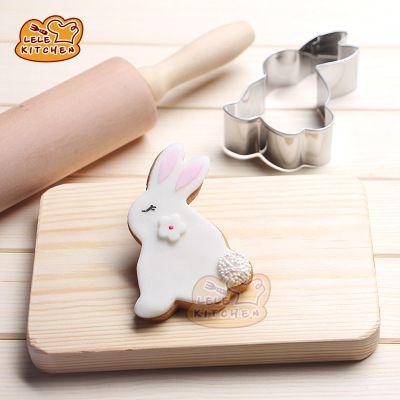 动物DIY饼干模 卡通 白兔 兔子 不锈钢模具 水果切模