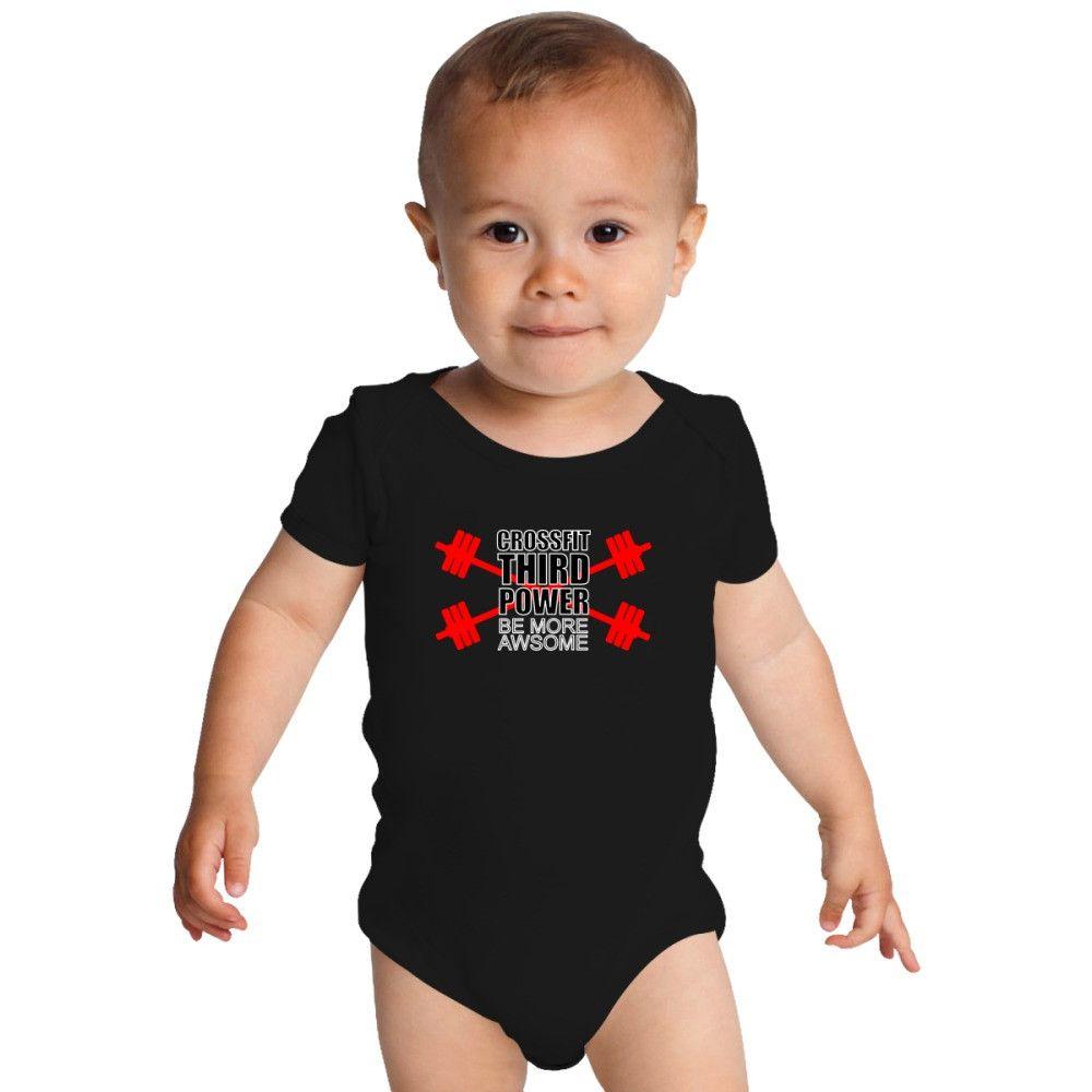 Crossfit Third Power Baby Onesies