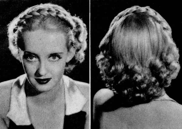 Beautiful 1930s hairstyles for girls with short hair • Beequeenhair Blog