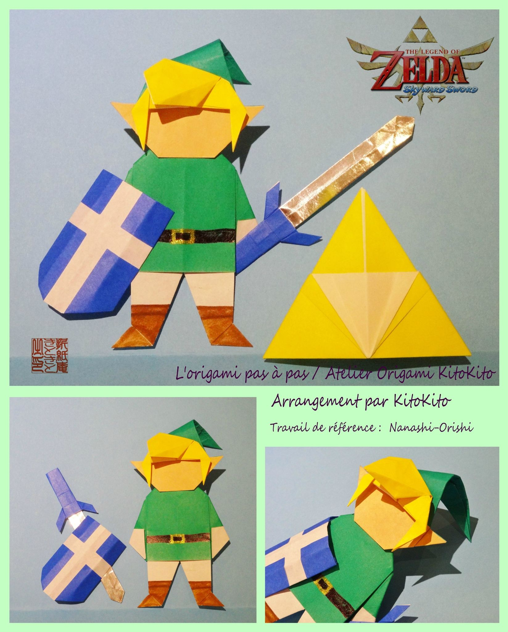 Atelier Origami KitoKito Link1 The Legend Of Zelda