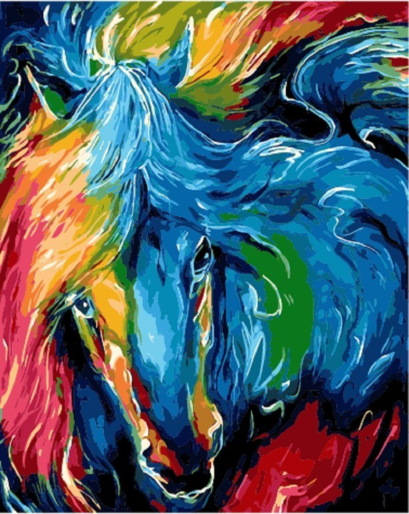 If you're looking for Horse Paint By Number Kits you'll