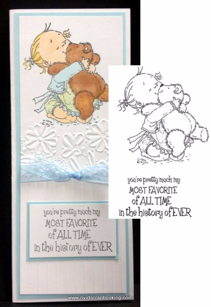 LOVE YA Cling Stamp set MO156 Stamping Bella Stamps teddy,words,phrases #StampingBella #ImageVerse