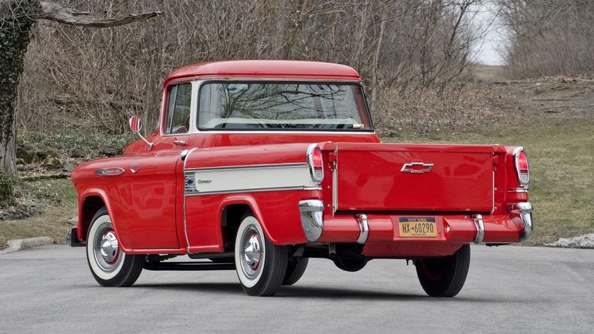 1957 Chevrolet Cameo Pickup T210 Indianapolis 2013 In 2020 Classic Pickup Trucks 1957 Chevrolet Chevrolet