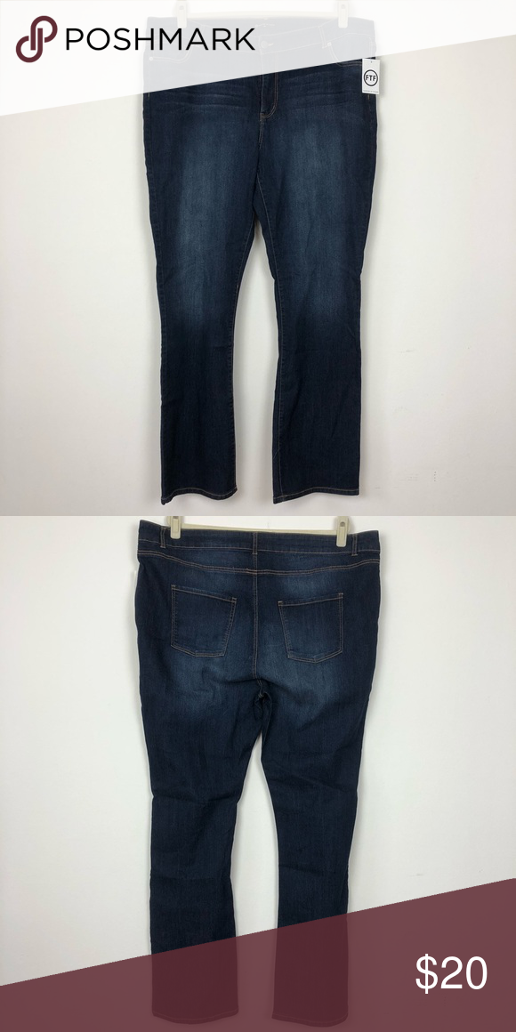 dcc22504550 Fashion to Figure Bootcut Jeans Brand new bootcut jeans. No holes or stains  Long 46.5 Inseam 34 Rise 12.5 326C Fashion to Figure Jeans Boot Cut