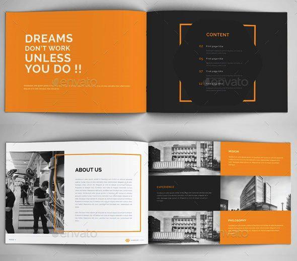 Company Profile Design Templates Desain Profil Perusahaan