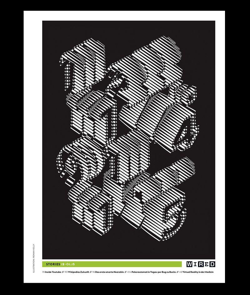 Wired Magazine - Ronan Kelly Design   D E S I G N \\ P R I N T ...