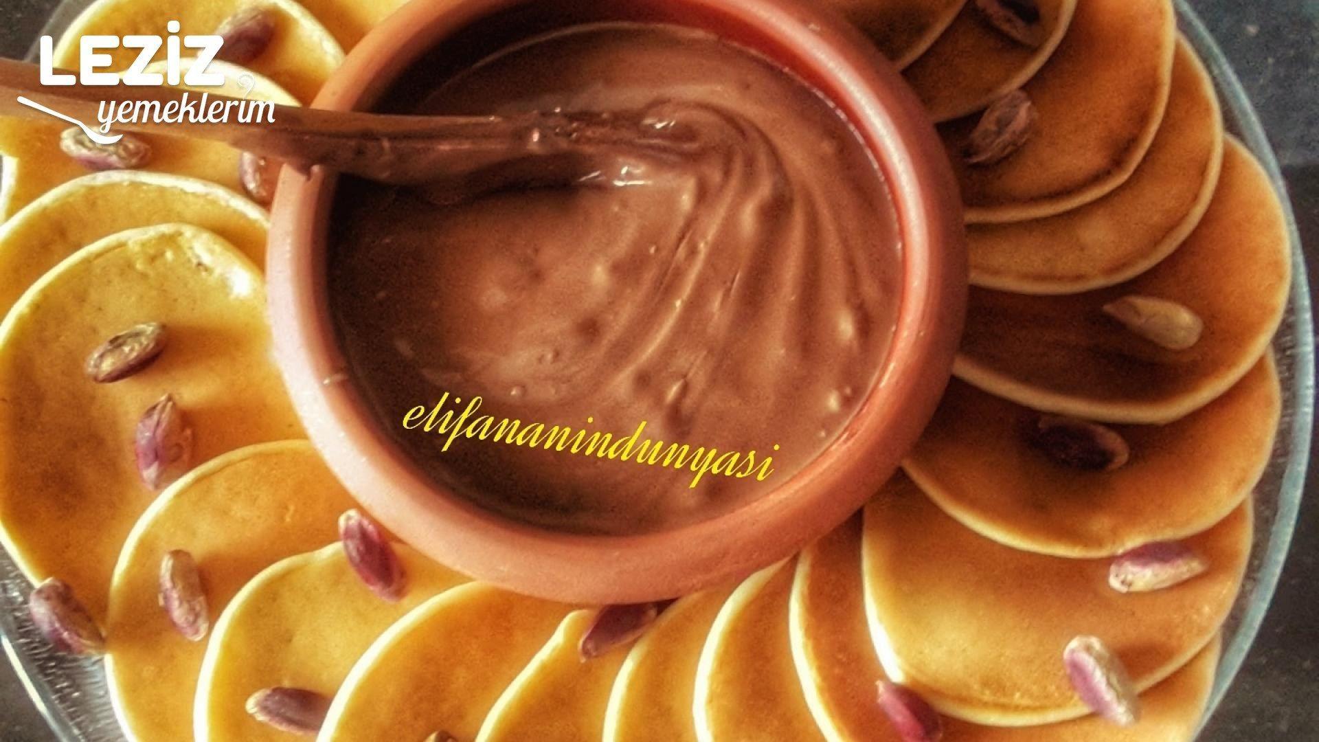 Nutellalı Pancake