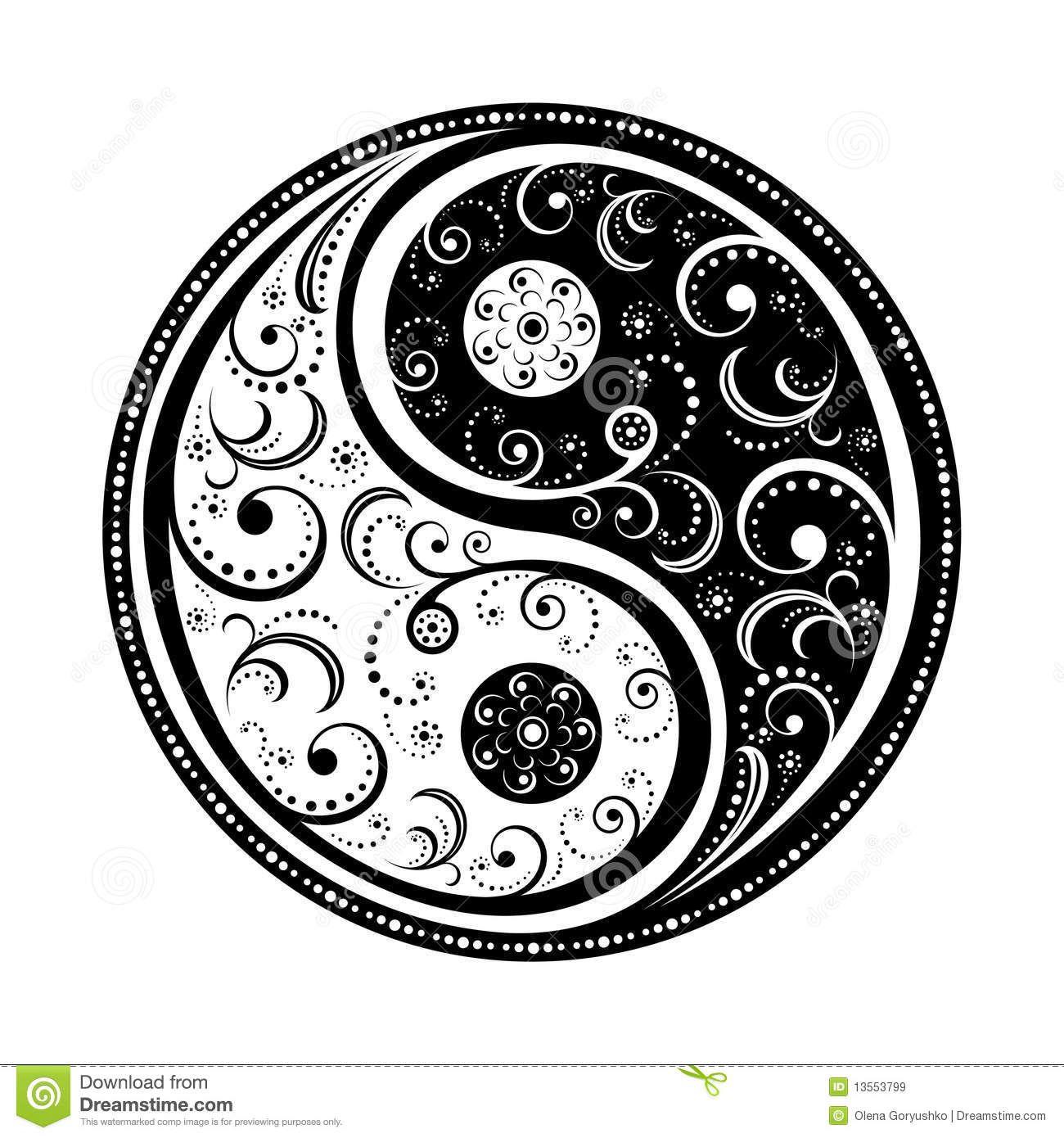 Coloring pages yin yang - Mandale Wzory Do Druku Szukaj W Google Yin Yang