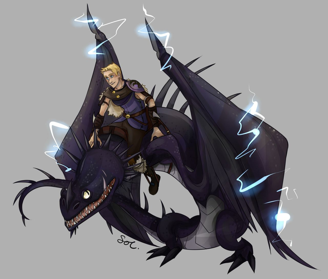 Dragons Figuren Skrill