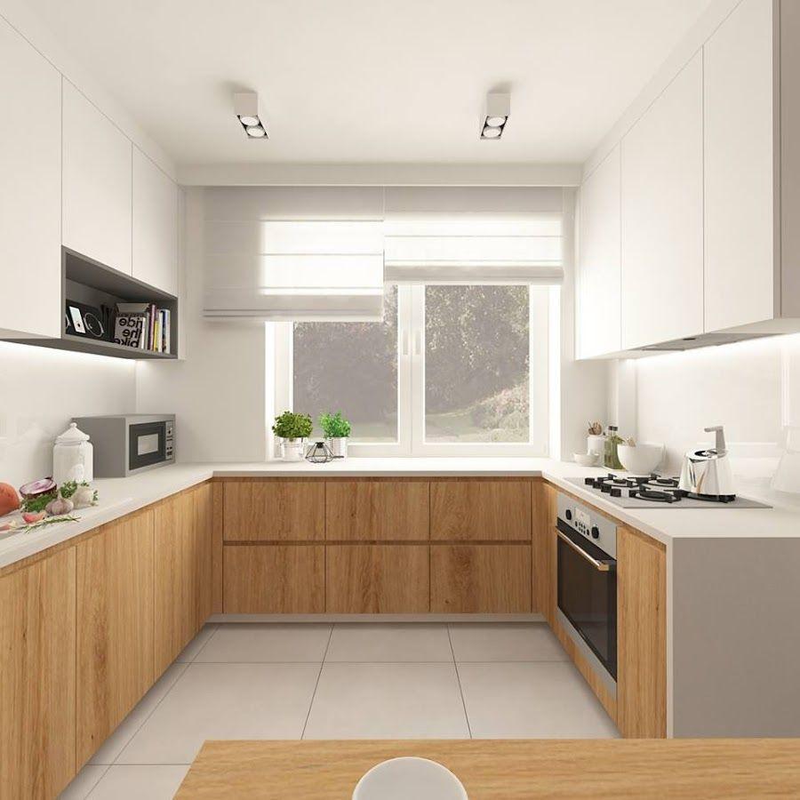 30 ideas de cocinas en blanco y madera | Cocina blanca, Madera y Blanco