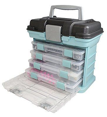 Scrapbooking Totes 146401: New Home Garden Creative Options Grab N Go Rack  System Storage Box