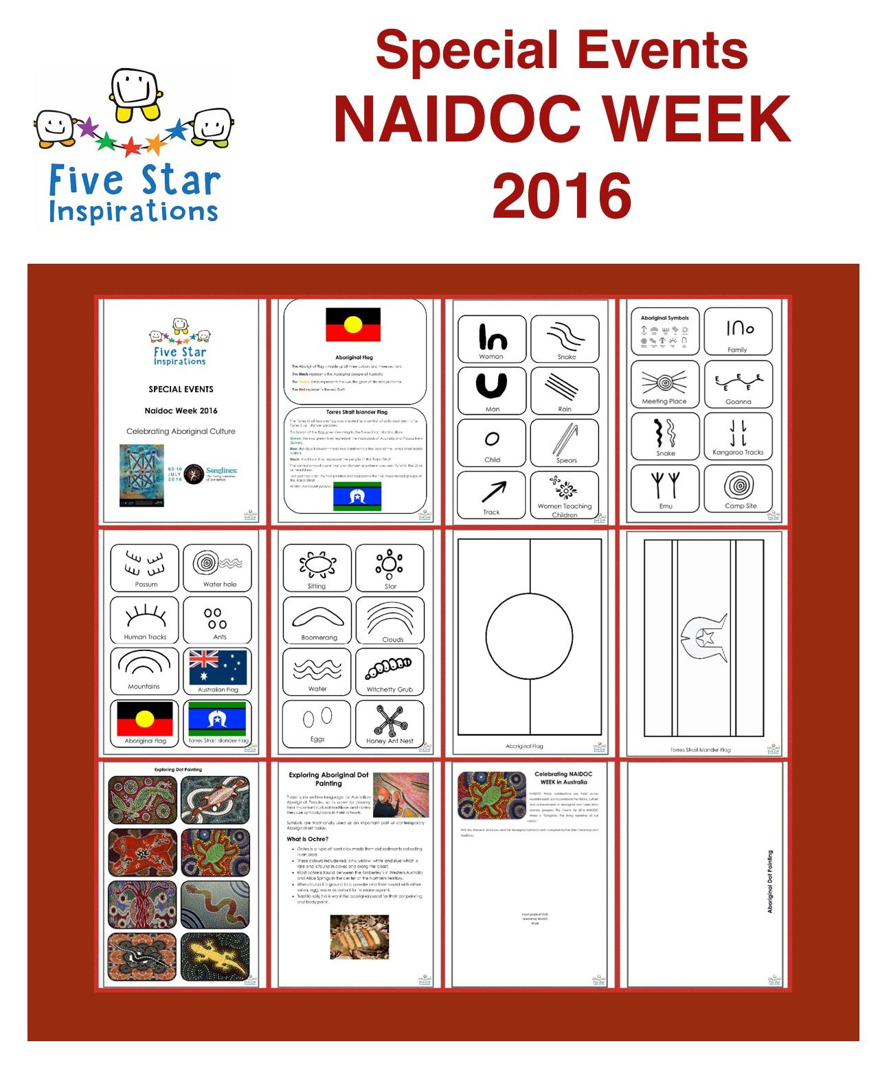Activities And Crafts For Naidoc Week