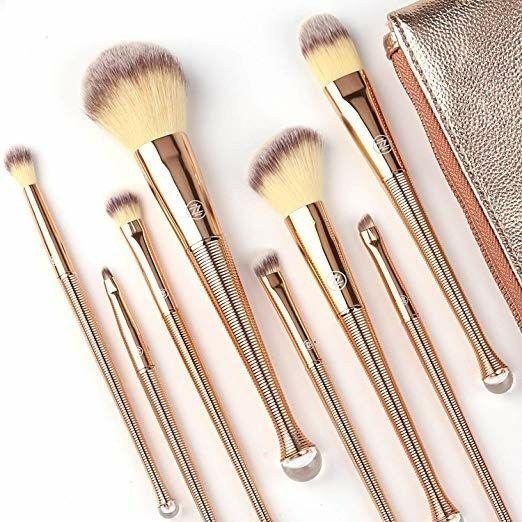 Photo of ZOREYA Makeup Brushes Set 8Pcs High End Premium Synthetic Cosmetics Contouring Powder Contour Foundation – Makeup Natural