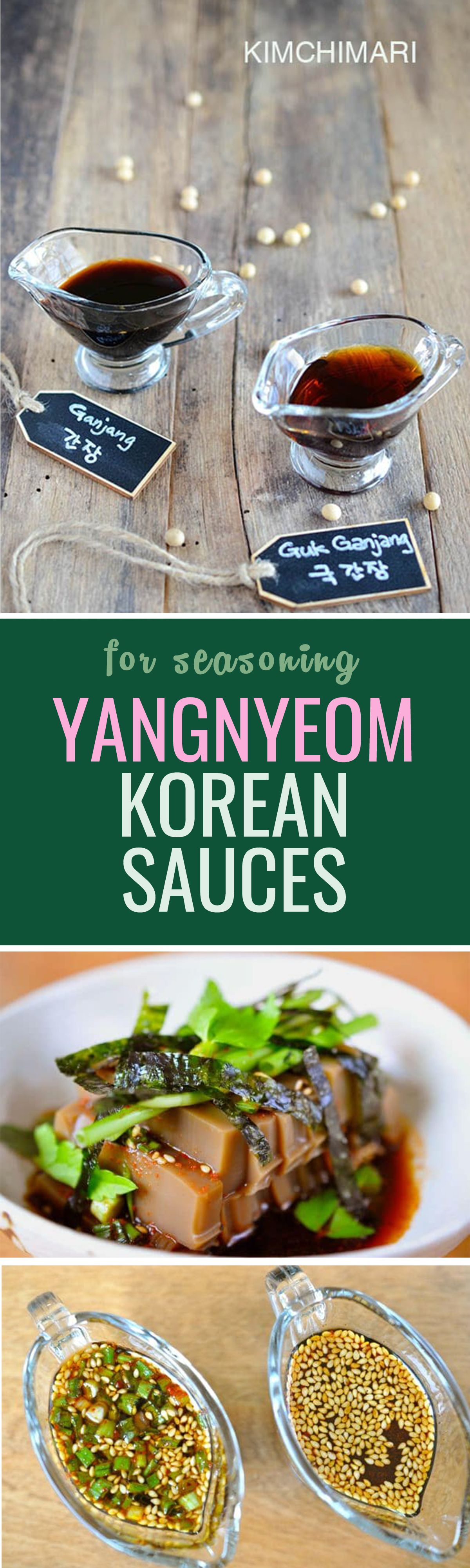 Korean sauces part two, yangnyeomjang! For marinades and seasoning dishes :)