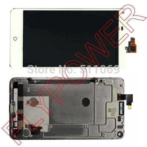 54.10$  Watch here - http://aliadq.shopchina.info/go.php?t=32805413773 - 100% New Original White LCD Screen Display + Touch Digitizer +Frame For ZTE Nubia Z5s NX503A Assembly by free shipping 54.10$ #buyonlinewebsite