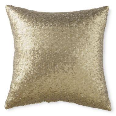 Liz Claiborne Gardenia 16 Quot Square Decorative Pillow Found