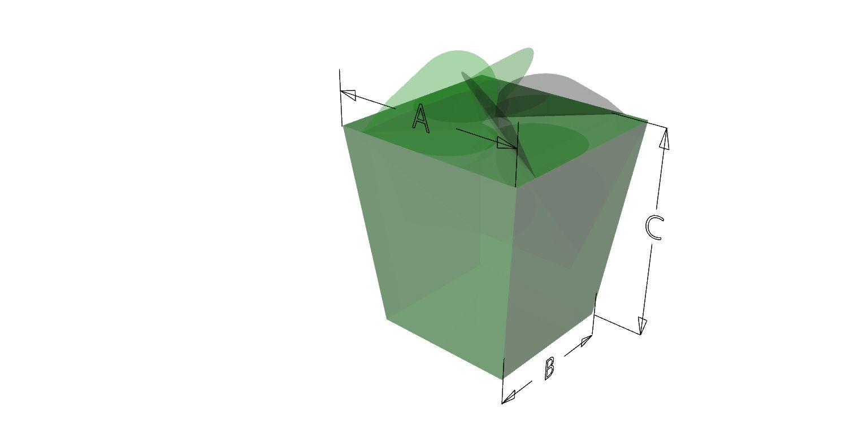 Caja Polvoron # C37 Llénalo de tus dulces o postres favoritos , para tu mesa de dulces.