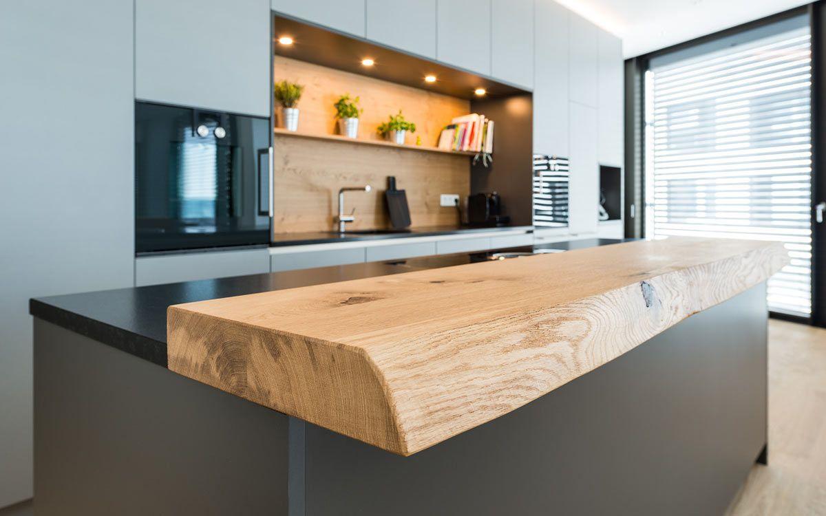 Graue Küche #remodelingorroomdesign
