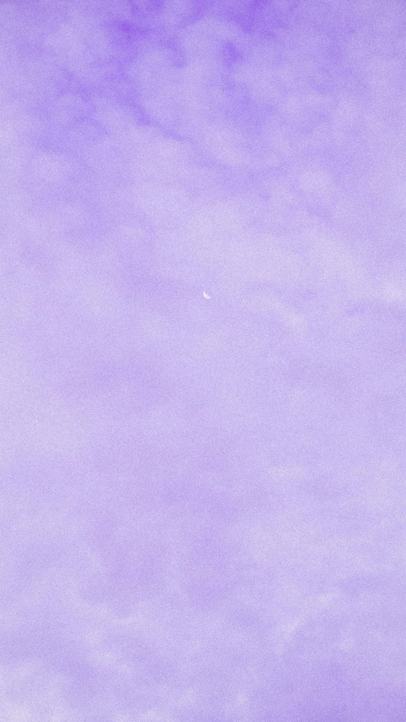 Vintage Film Purple Cloud Moon Wallpaper
