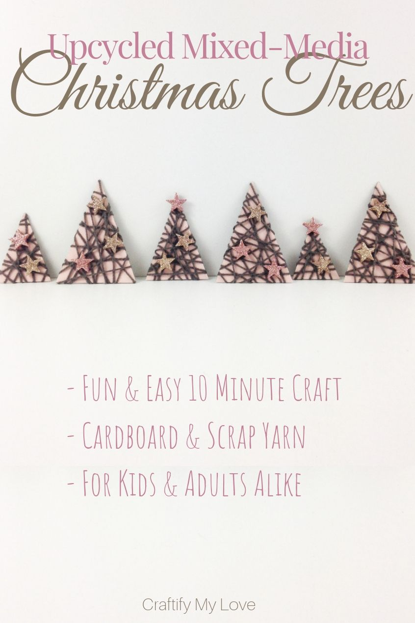 Mixed-Media Christmas Trees | *BEST I\'LL BE HOME 4 CHRISTMAS ...