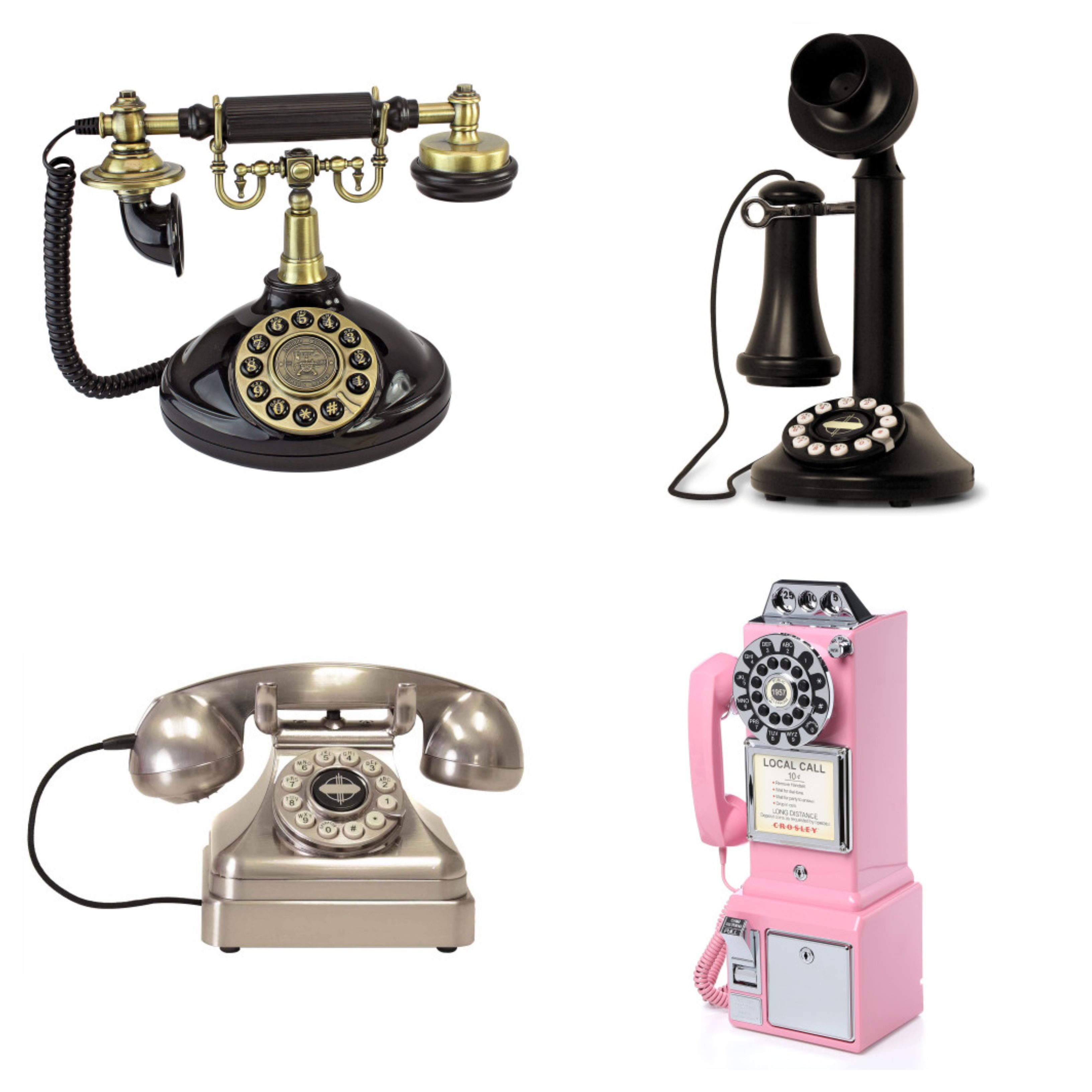 Fetefone Guestbook Select From A Variety Of Vintage Phone Styles Rent The Phone And Record A Pre Recorded Message Audio Guest Book Phone Fashion Guest Book