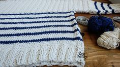 Tutorial tejer jersey dos agujas palillos paso a paso-Soy Woolly