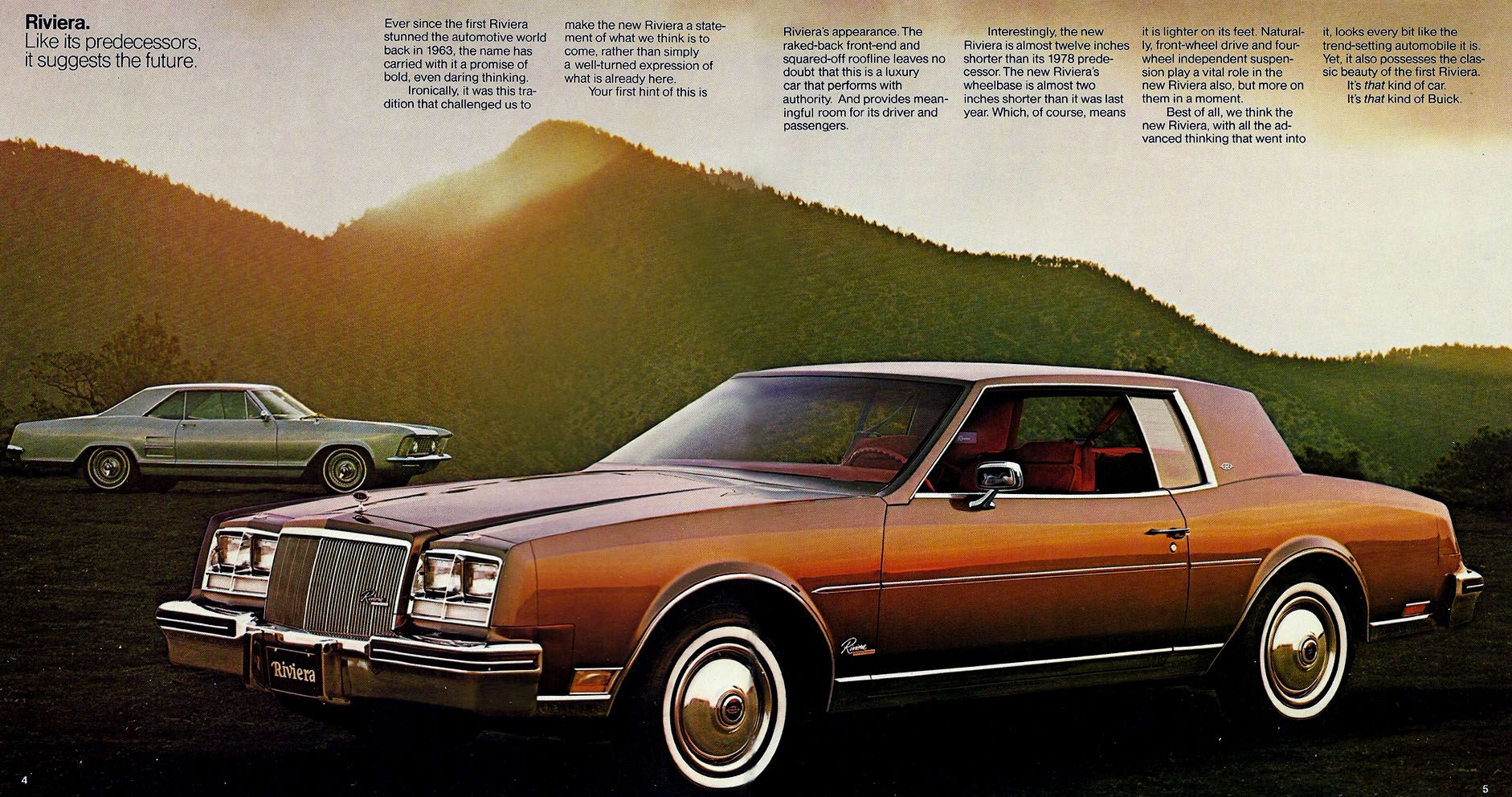 1979 Buick Riviera S Classic Vintage Car Advertisement Ad J28 Car of Year