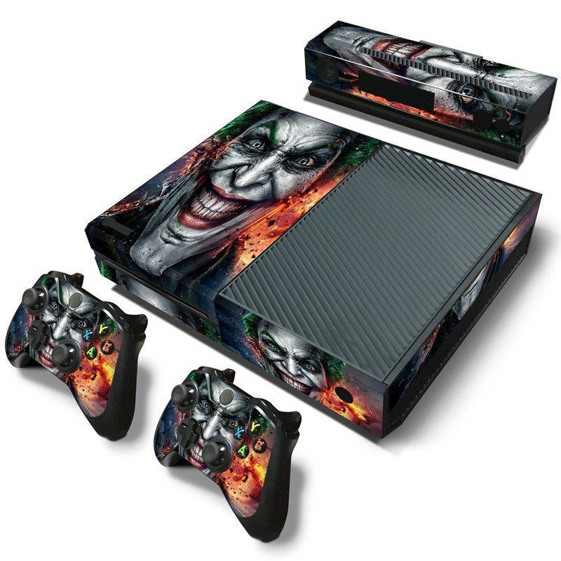 The joker collection skin sticker for xbox one xbox joker and batman most wicked pvc skin sticker for xbox one consolecontroller and kinect high quality sciox Images