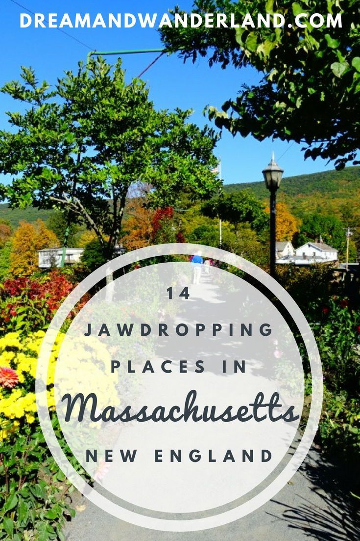 New England: 14 Unique Places And Things To Do In Massachusetts #travelnorthamerica