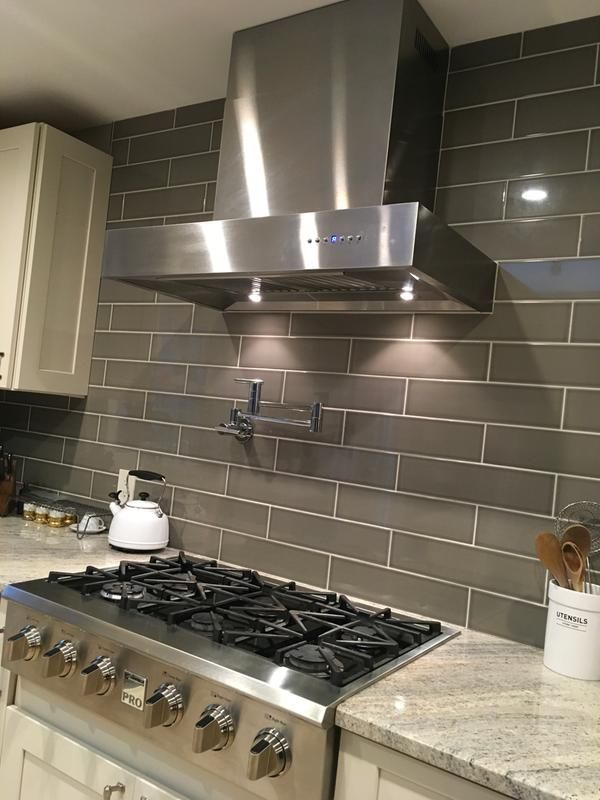 Thinking Of A Bold Backsplash Above Your Range Stainless Steel Compliments Your Unique Styl Under Cabinet Range Hoods Kitchen Range Hood Kitchen Design Trends
