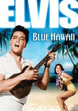Blue Hawaii...makes me crave pineapples! In fact, I usually eat canned pineapple slices while watching, and have done that since I was a kid.