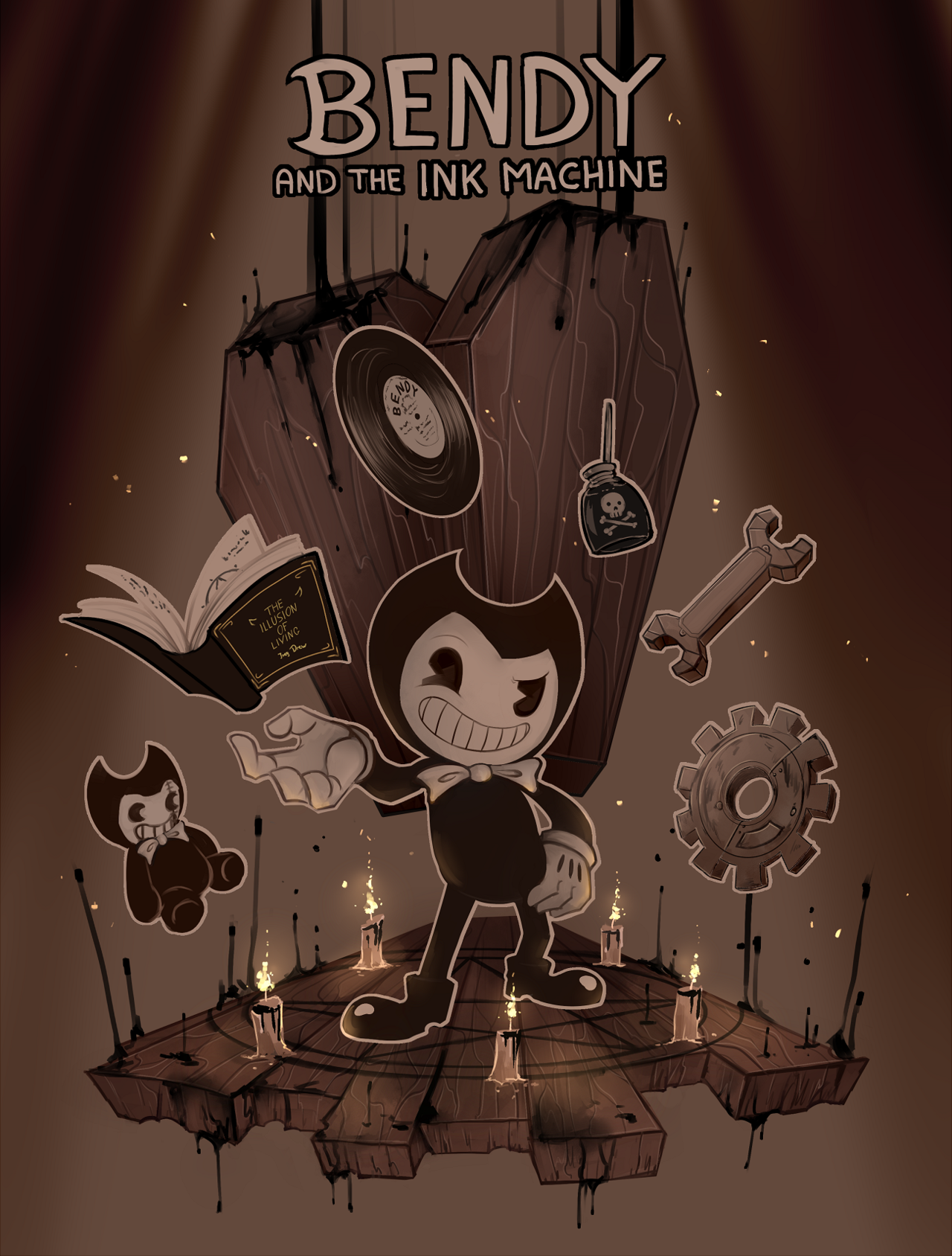 Image Result For Bendy And The Ink Machine Wallpaper Bendy