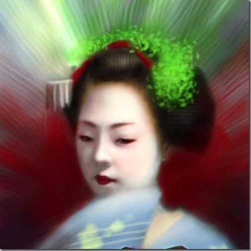 iPhone Finger Painting Artist Seikou Yamaoka creates Digital paintings using ArtStudio  iphone App