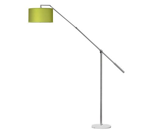 Hip Furniture - CANT FLOOR LAMP - The Cant floor lamp can easily adjust to the perfect height, and comes with lots of different shade options.  Its sleek, functional design makes it the perfect choice for your home. ($420)