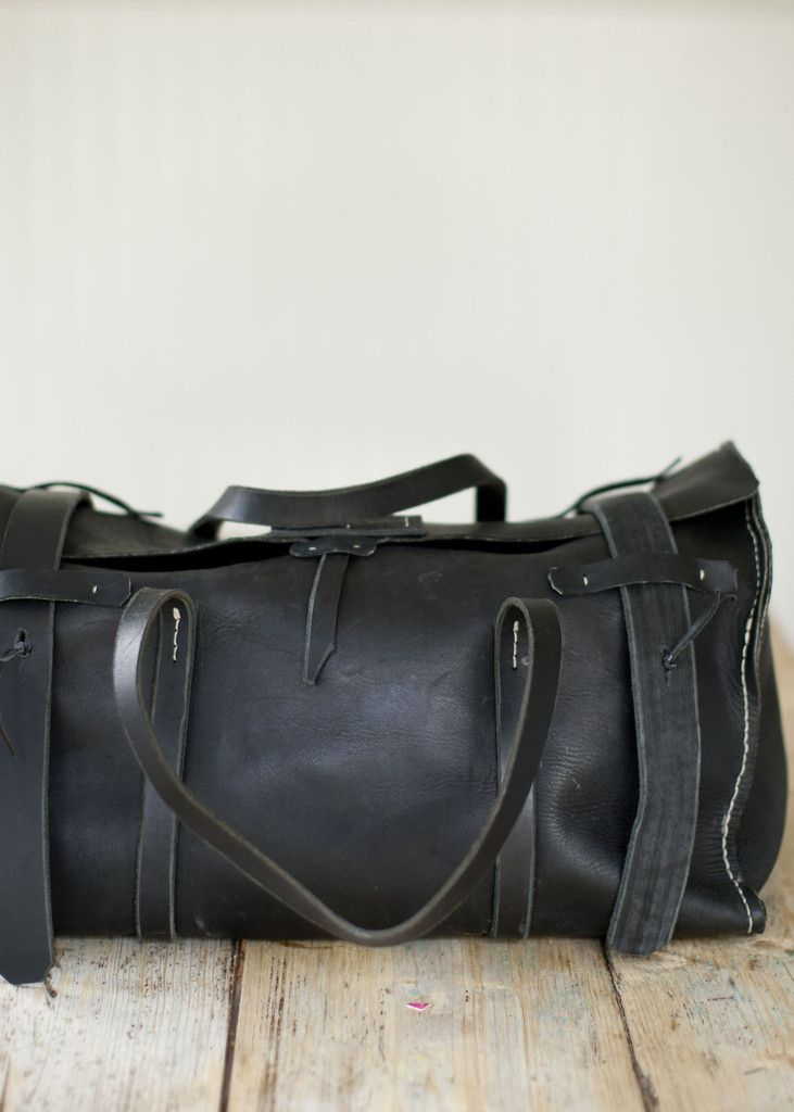 Leather Bay Bag