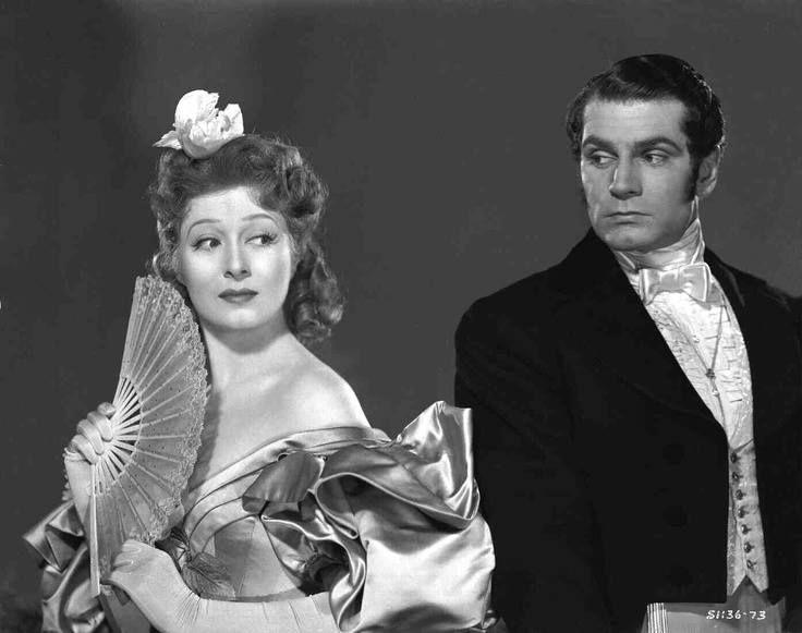 Greer Garson & Lawrence Olivier in Pride & Prejudice
