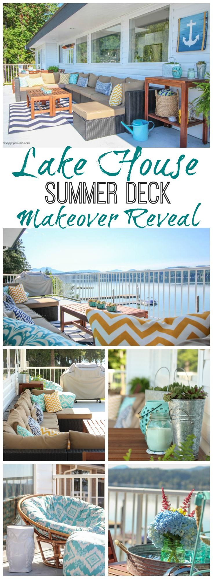 Our Summer Deck Makeover Reveal Beach House