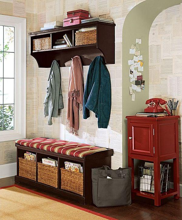 Baskets-hold-practical-items | Hall | Pinterest | Recibidor, Entrada ...