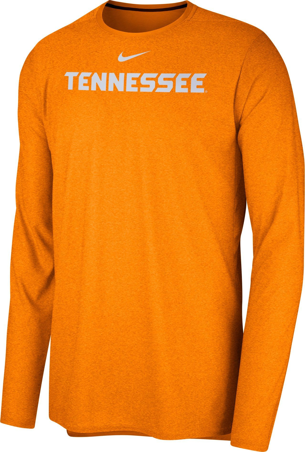 f49eb0dff Nike Men's Tennessee Volunteers Tennessee Orange Football Dri-FIT Player  Long Sleeve T-Shirt, Size: Small, Team