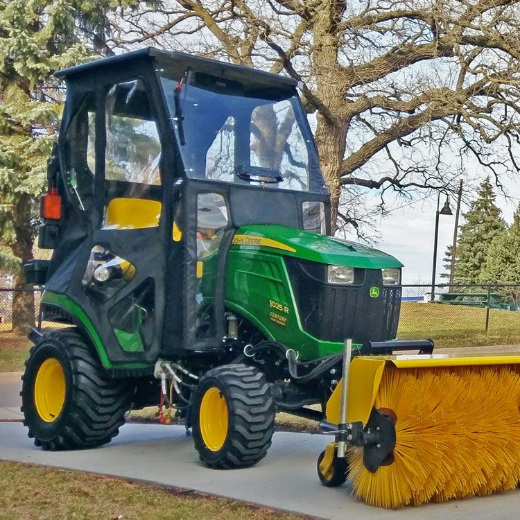 Hardtop Cab Enclosure with Vented Windshield for John Deere