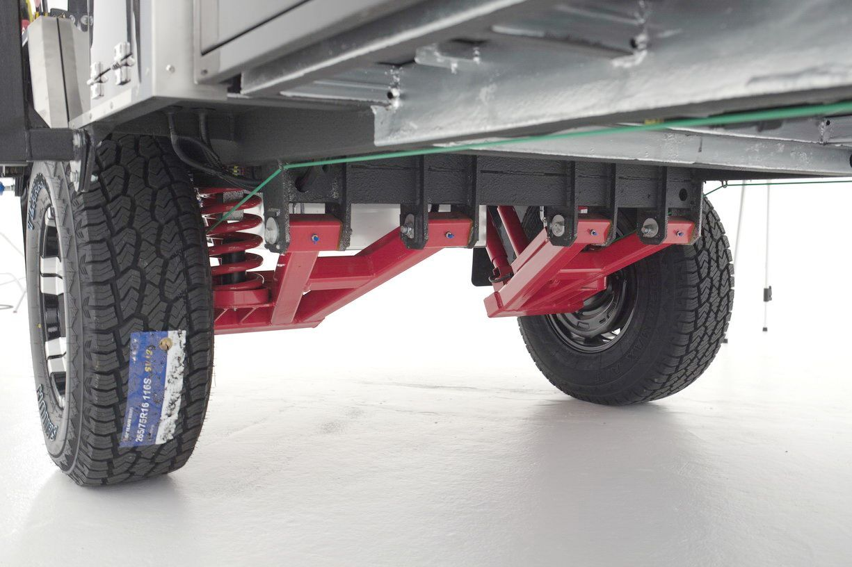 Image Result For Off Road Trailer Suspension Custom Off Road Camper Trailer Trailer Suspension Trailer Axles