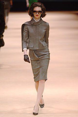 Alexander McQueen Fall 2005 Ready-to-Wear Fashion Show - Rianne Ten Haken